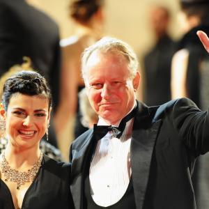 Stellan Skarsgård at event of Melancholija (2011)