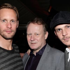 Stellan Skarsgård, Alexander Skarsgård and Gustaf Skarsgård