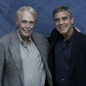 With George Clooney