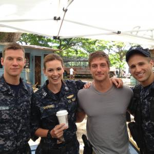 Chad Collins, Daisy Betts, Daniel Lissing and Michael King, ABC's, Last Resort.