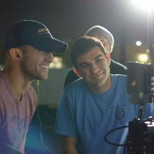 Watching playback, while directing Chasing Denzel