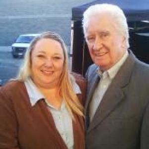 on set Melissas Haunting with Ron Barge from the Buck Shot show