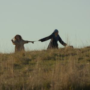 Still of Isabelle Carré and Ariana Rivoire in Marie Heurtin (2014)