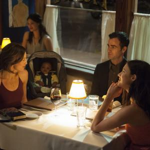 Justin Theroux, Carrie Coon, Margaret Qualley