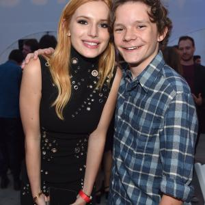 Bella Thorne and Zac Pullam at event of Scream: The TV Series (2015)
