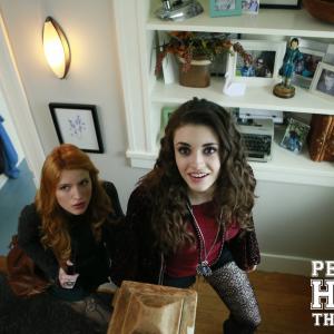 Still of Bella Thorne and Daniela Bobadilla in Perfect High (2015)