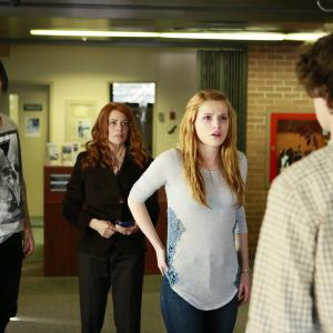 Still of Venus Terzo, Bella Thorne, Israel Broussard and Ross Butler in Perfect High (2015)