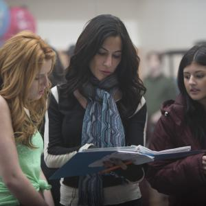 Still of Jasmine Sky Sarin and Bella Thorne in Perfect High (2015)