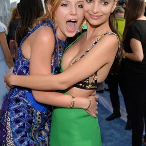 Emily Ratajkowski and Bella Thorne