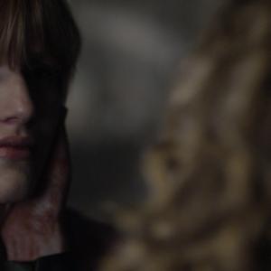 Still of Kyra Sedgwick and Bella Thorne in Big Sky (2015)