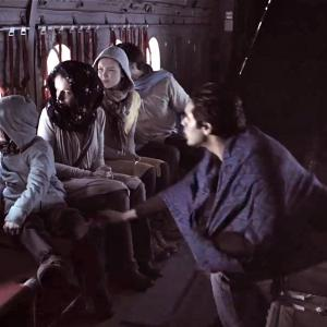 Still of Joe Cipriano (left) from Age of Ice.