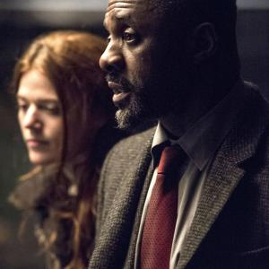Still of Idris Elba and Rose Leslie in Luther (2010)