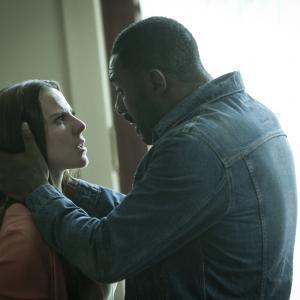 Still of Kate del Castillo and Idris Elba in No Good Deed (2014)