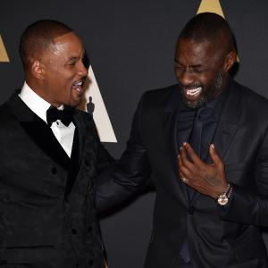 Will Smith and Idris Elba