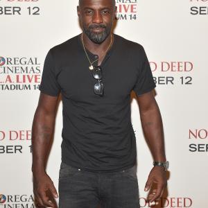Idris Elba at event of No Good Deed (2014)
