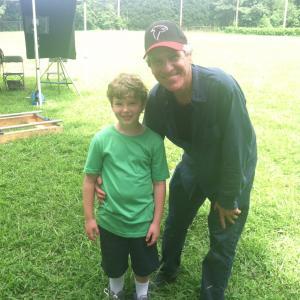 On set with Mr. Dan Attias
