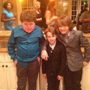 Landon with Grant Goodman and Alec Mizerik