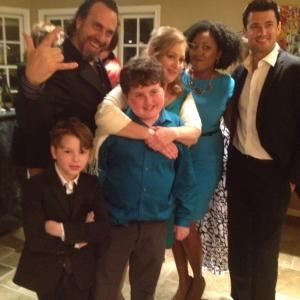 Landon with Grant Goodman and Wes Brown and Karen Steele