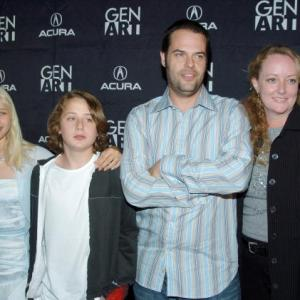 Carly Schroeder Rory Culkin director Jacob Aaron Estes and producer Susan Jacobson attend the New York Premiere of Mean Creek at the Clearview Chelsea August 12 2004 in New York City