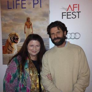 with Marie Del Marco Life Of Pi premiere at Graumans Chinese Theater