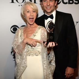 Helen Mirren and Bradley Cooper