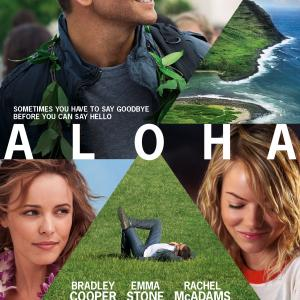 Bradley Cooper, Rachel McAdams and Emma Stone in Aloha (2015)