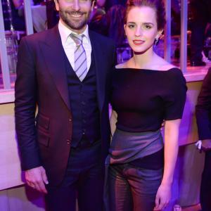 Bradley Cooper and Emma Watson