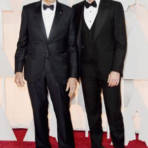 Clint Eastwood and Bradley Cooper at event of The Oscars (2015)