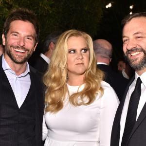 Judd Apatow, Bradley Cooper and Amy Schumer