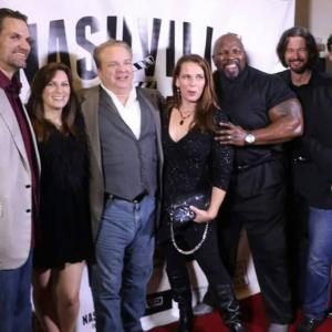 The Captives cast Photo with Allen Carver the DirectorProducer