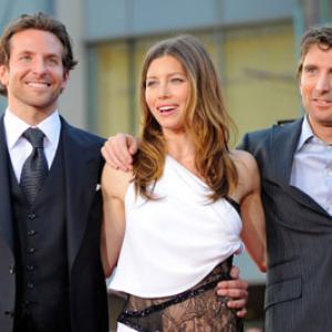 Jessica Biel Bradley Cooper and Sharlto Copley at event of A komanda 2010