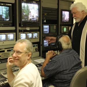Control Room at TV Studio