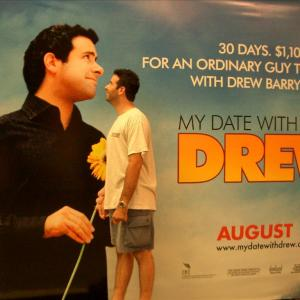 My Date with Drew Artwork at The Grove with Brian Herzlinger!