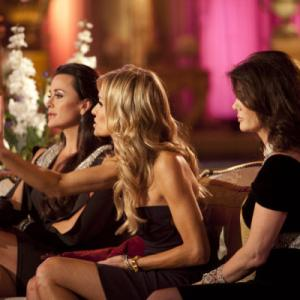 Still of Kyle Richards Lisa Vanderpump and Taylor Armstrong in The Real Housewives of Beverly Hills 2010