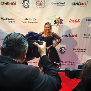 Lisa Christiansen Oscars Private Party at The Warner Bro Estate