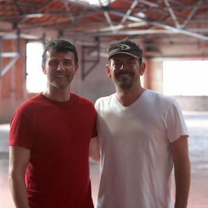Brad with Stuart McKenna AKA Tom Cruise
