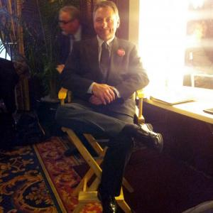 On the set of NASHVILLE Campaign Aide  Mayor Aid to Eric Closes character Regular featured extra