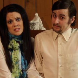 Heather Murdock working on Adopting Trouble. A feature written by Lee Garnder and Blake Casselman. Directed by Lee Garnder.