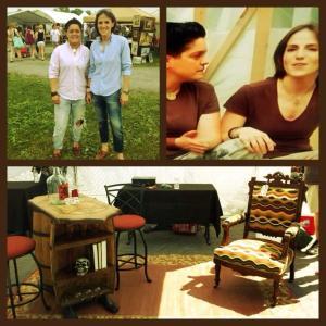 Winners of Season 1 HGTVs Flea Market Flip with Andrea Verdura