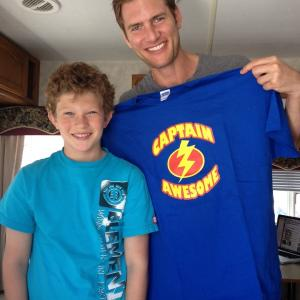 On set with Awesome Ryan McPartlin