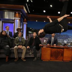 Adam Sandler Rob Schneider Luke Wilson Terry Crews Jorge Garcia Jimmy Kimmel and Taylor Lautner