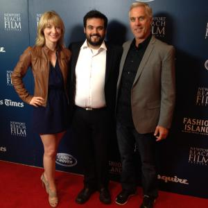 Perry Thomas Sean Giddings Ryann Turner at Newport Beach Film Festival with This Is Normal
