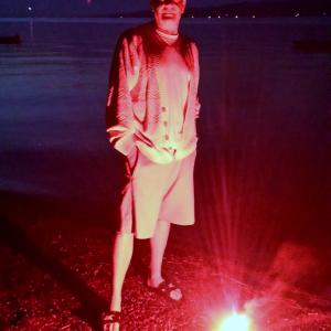 Fourth of July 2014 Skaneateles Lake Ill burn my books!Ah Mephistophilis! Exit Devil with Faustus