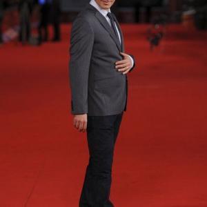 Reza Sixo Safai on the red carpet at the Rome Intl Film Festival