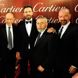 Alan Arkin Ben Affleck former CIA technical operations officer Tony Mendez and actor Bryan Cranston attend the 24th annual Palm Springs International Film Festival Awards Gala