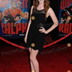 Shantiel Vazquez at the world premiere of Wreck it Ralph in Los Angeles CA