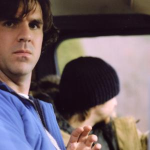 Still of Paul Schneider and Aaron Stanford in Live Free or Die 2006