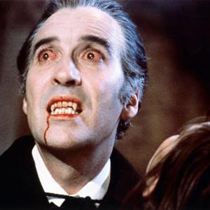 Christopher Lee at event of Dracula 1958