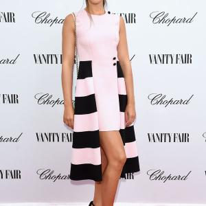 Silvia Busuioc attends the Chopard And Vanity Fair event 71st Venice Film Festival 2014
