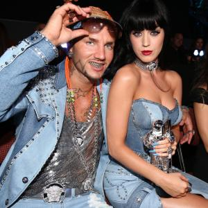 Riff Raff and Katy Perry at event of 2014 MTV Video Music Awards (2014)